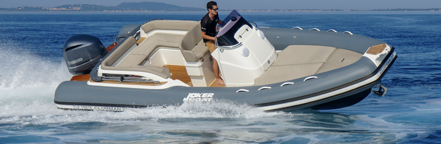 PRESENTATION / NEW JOKER BOAT CLUBMAN 24 TO DISCOVER