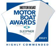 Finaliste Motorboat Award 2021 catégorie Sportboats Winner European Power Boat of the Year 2021 - Saxdor 200 Sport Saxdor 200 Sport - Distributeur officiel Saxdor Alpes-Maritimes et Monaco CNG Agence du Port - Golfe Juan (06)