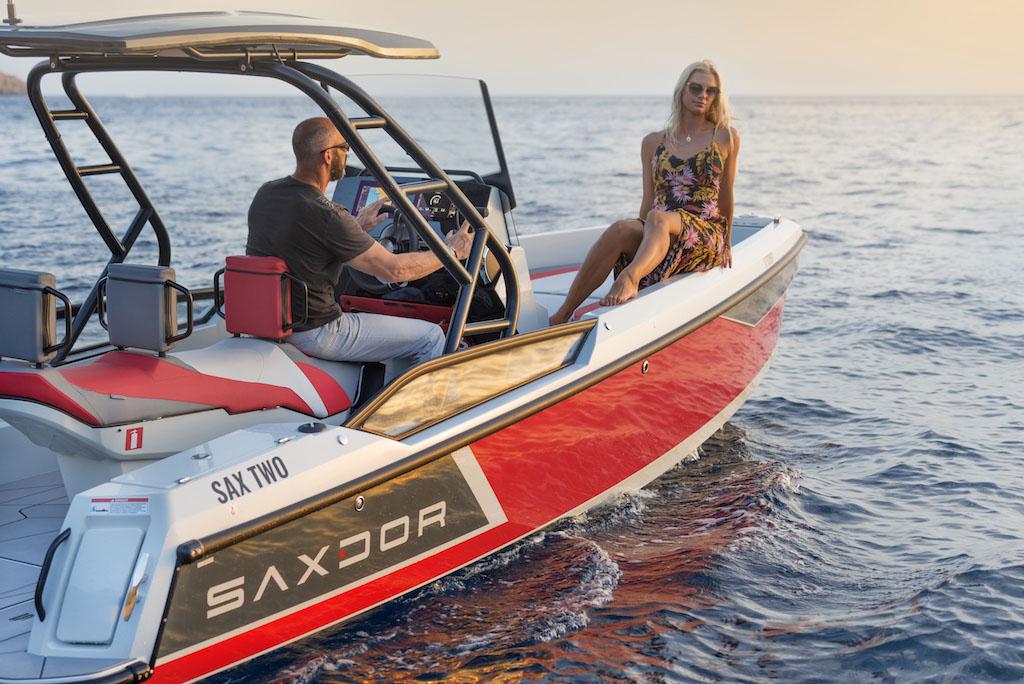 Saxdor 200 Sport Winner European Power Boat of the Year 2021 - Saxdor 200 Sport - Distributeur officiel Saxdor Alpes-Maritimes et Monaco CNG Agence du Port - Golfe Juan (06)