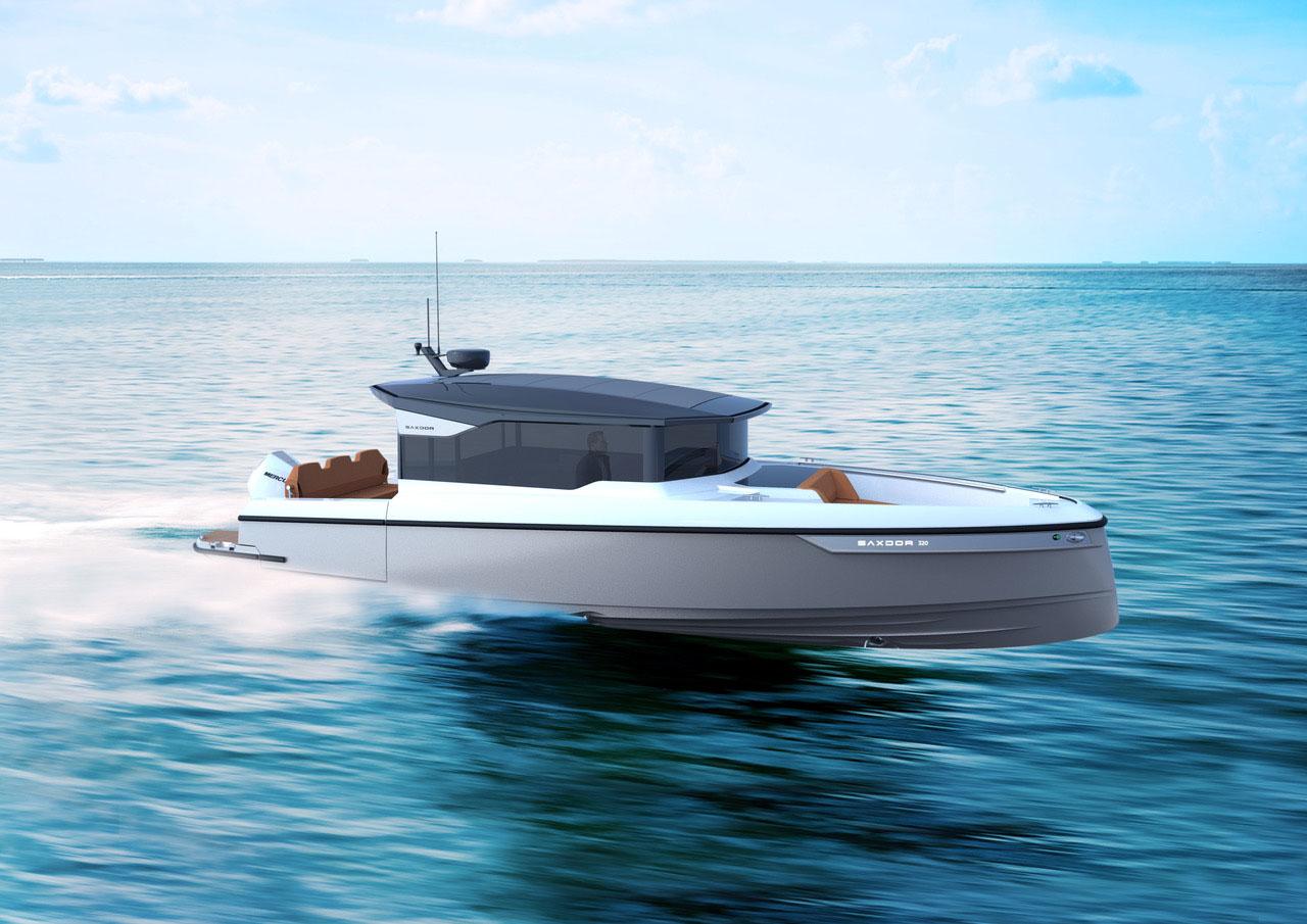 Saxdor 320 GTC - Distributeur officiel Saxdor Alpes-Maritimes et Monaco CNG Agence du Port - Golfe Juan (06)